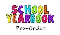 Pre-Purchase your yearbook & shout-outs now!