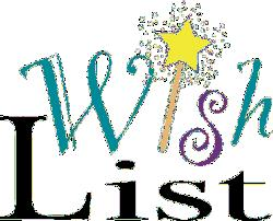 School Staff Needs & Wants Wishlist