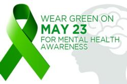 Wear Green on Thursday for Mental Health Awareness
