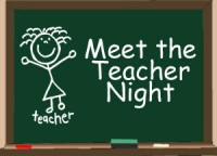 Save the date: Meet the Teacher Night